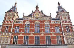 Amsterdam - Central Station Royalty Free Stock Photos