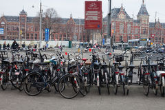 Amsterdam Central Station Royalty Free Stock Photos