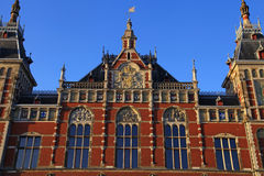 Amsterdam Central Train Station(Centraal) , Netherlands. Stock Images