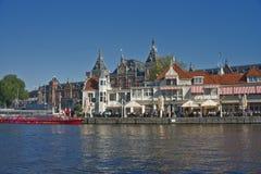 Amsterdam centrali stacja Zdjęcie Royalty Free