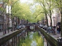 Amsterdam Chanel Immagini Stock Libere da Diritti