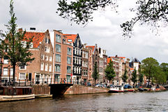 Amsterdam Channel Royalty Free Stock Image