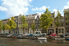 Amsterdam Channel, Netherlands Royalty Free Stock Photography