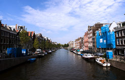 Amsterdam channel Stock Photos