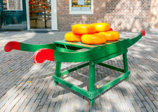 Amsterdam. Cheese on a stretcher. Stock Images