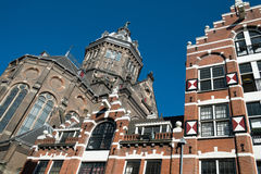 Amsterdam church of the Holy Sint Nicolas Royalty Free Stock Photo