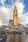 Amsterdam Church Stock Photography