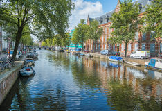 Amsterdam city Royalty Free Stock Image