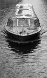 Amsterdam city boat tour Stock Photos
