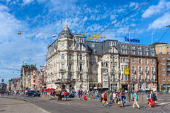 Amsterdam city center. royalty free stock photo