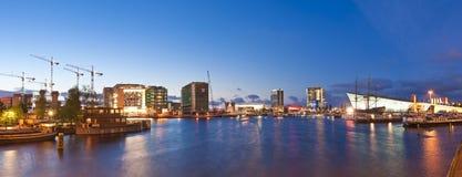 Amsterdam City Development, Oosterdok Stock Image