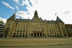 Amsterdam city hall Stock Photo