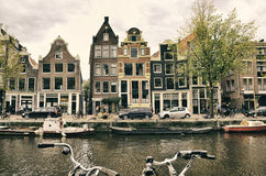 Amsterdam - city in Netherlands Stock Image