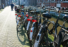 Amsterdam city scene Stock Photography