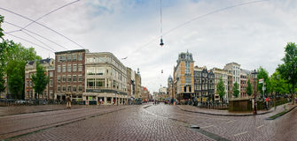 Amsterdam city scene Royalty Free Stock Images