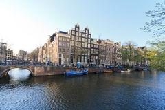Amsterdam city view Stock Images