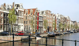Amsterdam city Stock Photos