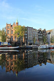 Amsterdam cityscape Royalty Free Stock Photo