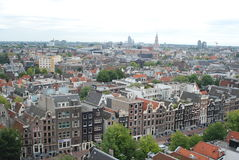 Amsterdam cityscape Royalty Free Stock Photos