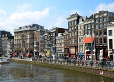Amsterdam, cityscape Stock Photography