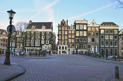 Amsterdam cityscape, Netherlands Stock Image