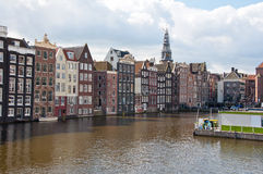 Amsterdam cityscape, the Netherlands. Stock Images