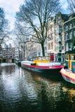 Amsterdam cityscape Stock Photography