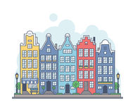 Amsterdam cityscape Royalty Free Stock Image