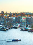 Amsterdam cityscape Royalty Free Stock Photo