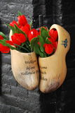 Amsterdam clogs. Royalty Free Stock Images