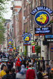 Amsterdam Coffeeshop Royalty Free Stock Photography