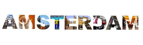 Amsterdam-Collage Lizenzfreie Stockfotografie