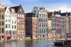 Amsterdam colorida Fotografía de archivo