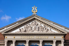 Amsterdam Concertgebouw Architectural Details Stock Photography