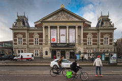 Amsterdam Concertgebouw Royalty Free Stock Images