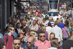 Free Amsterdam Crowd Stock Image - 39403111