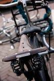 amsterdam cykel Arkivbilder