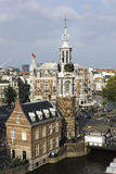 Amsterdam da sopra, i Paesi Bassi Fotografie Stock