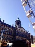Amsterdam-Dam square Stock Images