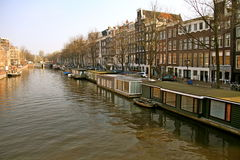 Amsterdam by day Royalty Free Stock Images