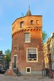 Amsterdam. De Toren Schreierstoren van de vesting Stock Foto