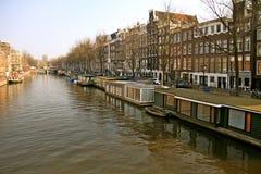 Amsterdam di giorno Immagini Stock Libere da Diritti