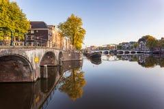 Amsterdam, die Niederlande Stockfoto