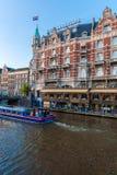AMSTERDAM, DIE NIEDERLANDE - 3. APRIL 2008: Luxushotel Europa und Stockfotos