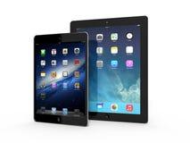 AMSTERDAM, DIE NIEDERLANDE - CIRCA 2014 - iPad und iPhone Lizenzfreie Stockfotos