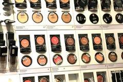 Amsterdam, die Niederlande, kann, 12. 2016: verschiedene kosmetische Produkte Lizenzfreie Stockbilder