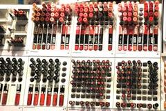 Amsterdam, die Niederlande, kann, 12. 2016: verschiedene kosmetische Produkte Lizenzfreie Stockfotos