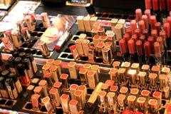 Amsterdam, die Niederlande, kann, 12. 2016: verschiedene kosmetische Produkte Lizenzfreie Stockfotografie