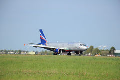 Amsterdam, die Niederlande -, 11. kann 2015: VP-BWE Aeroflot - Ru Stockfoto