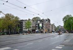 Amsterdam, die Niederlande - 16. Mai 2015: Leute an Westermarkt-Bezirk in Amsterdam Stockfoto